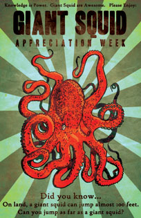 Giant Squid Appreciation Week